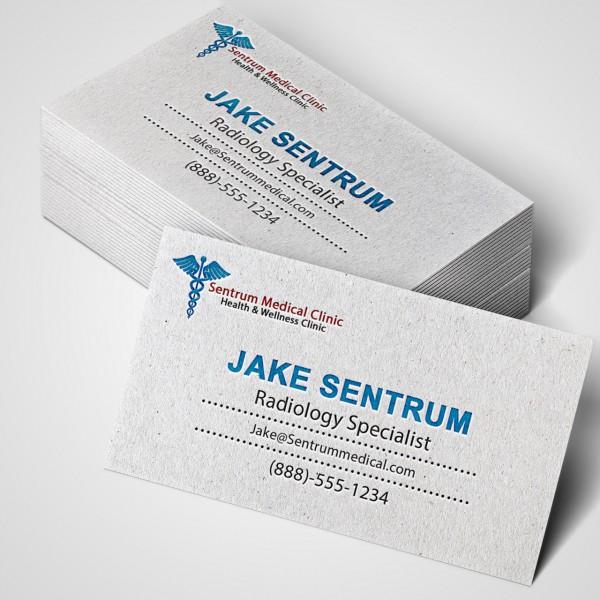 Linen business cards print medics linen business cards reheart Gallery